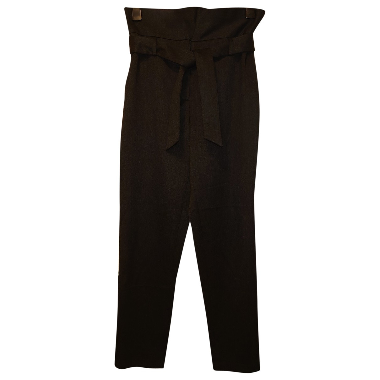 Uterque N Black Trousers for Women M International