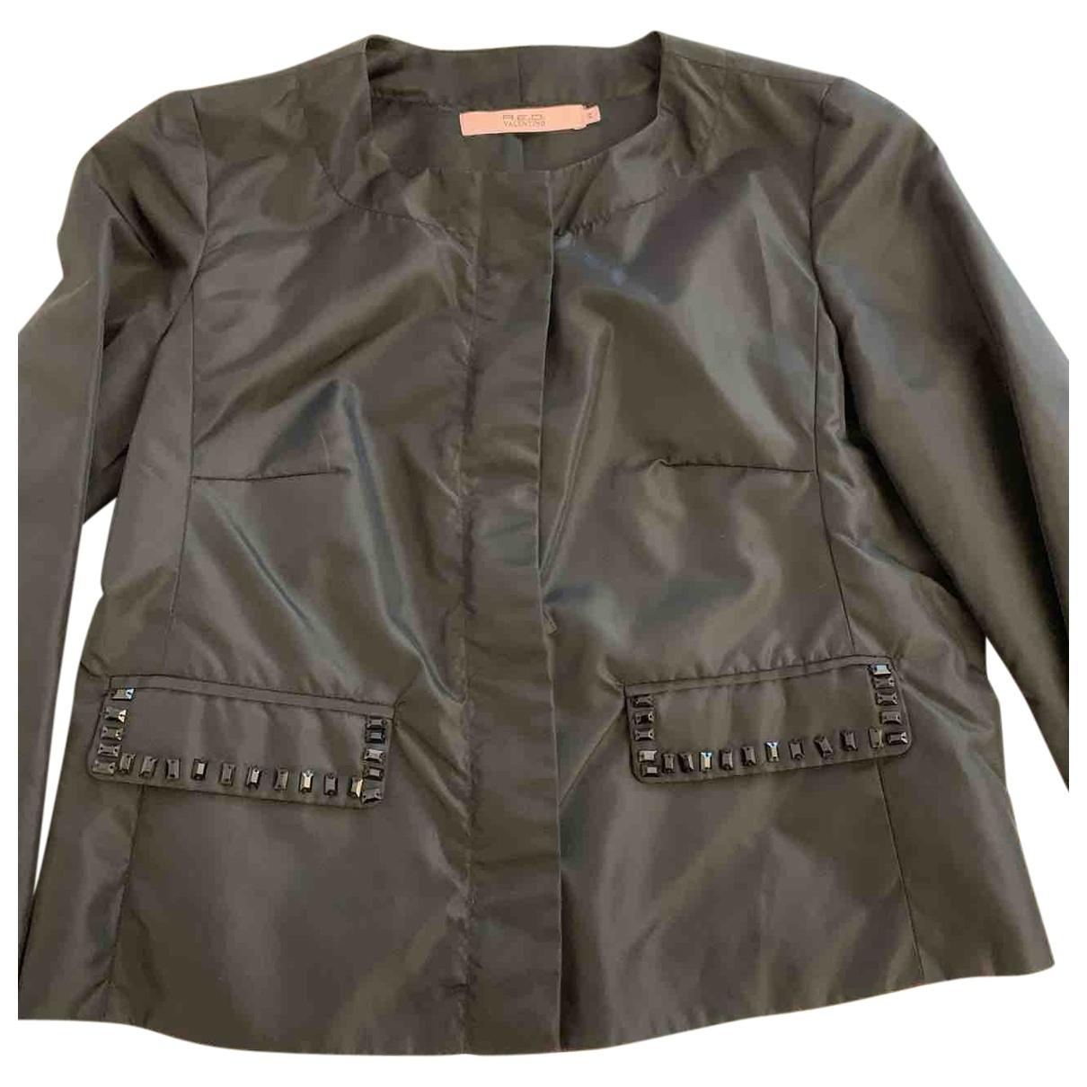 Red Valentino Garavani \N Black jacket for Women 42 IT