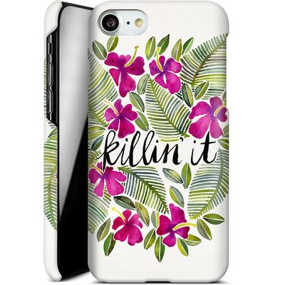 Apple iPhone 8 Smartphone Huelle - Killin It Pink von Cat Coquillette