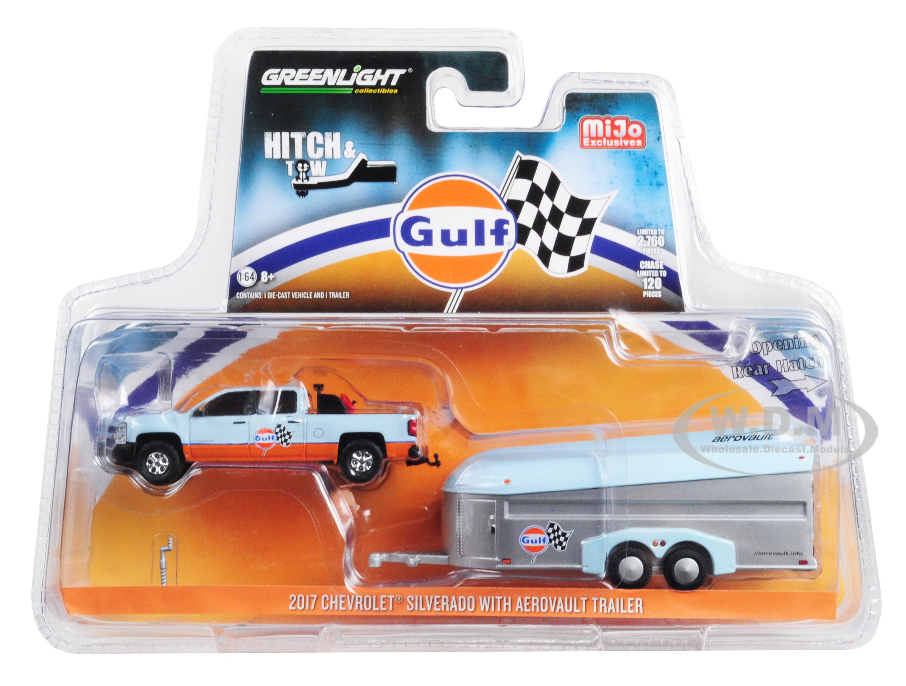 2017 Chevrolet Silverado Pickup Truck and Aerovault Trailer