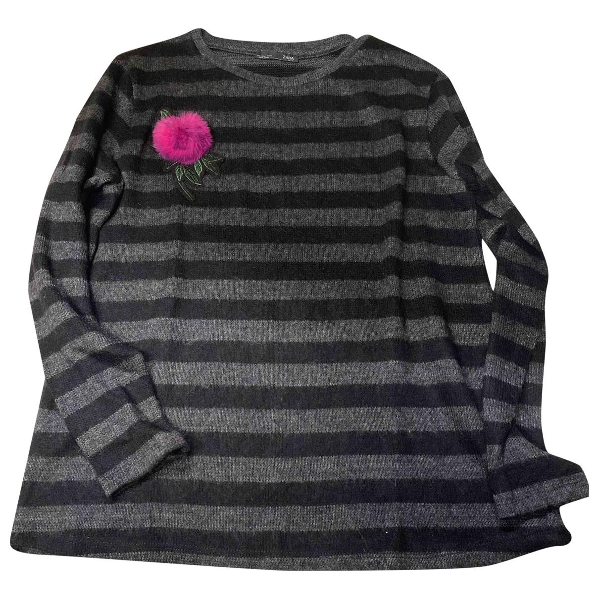 Zara N Black Wool Knitwear for Women S International