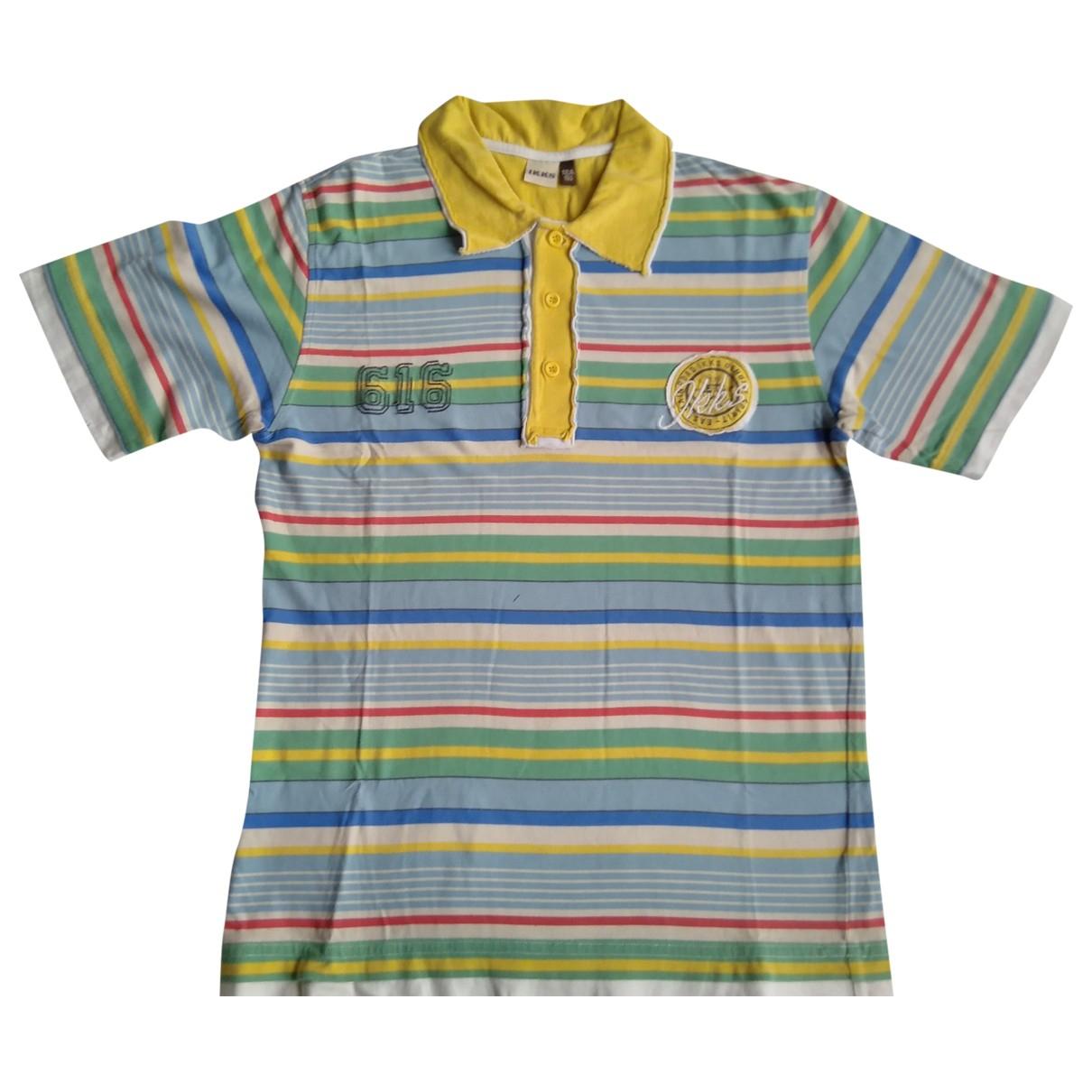 Camisetas en Algodon Azul Ikks