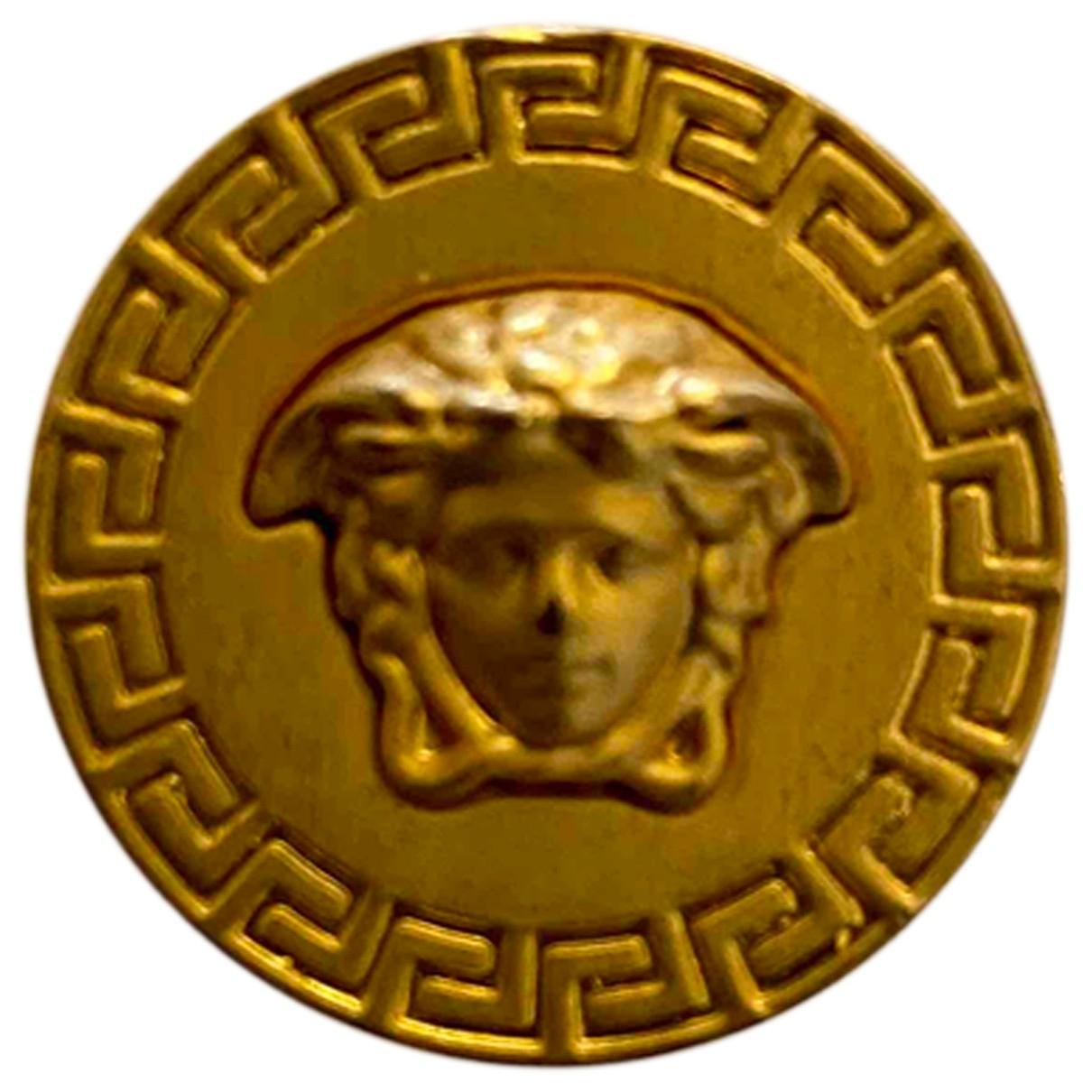 Versace Medusa Gold Metal Jewellery for Men \N