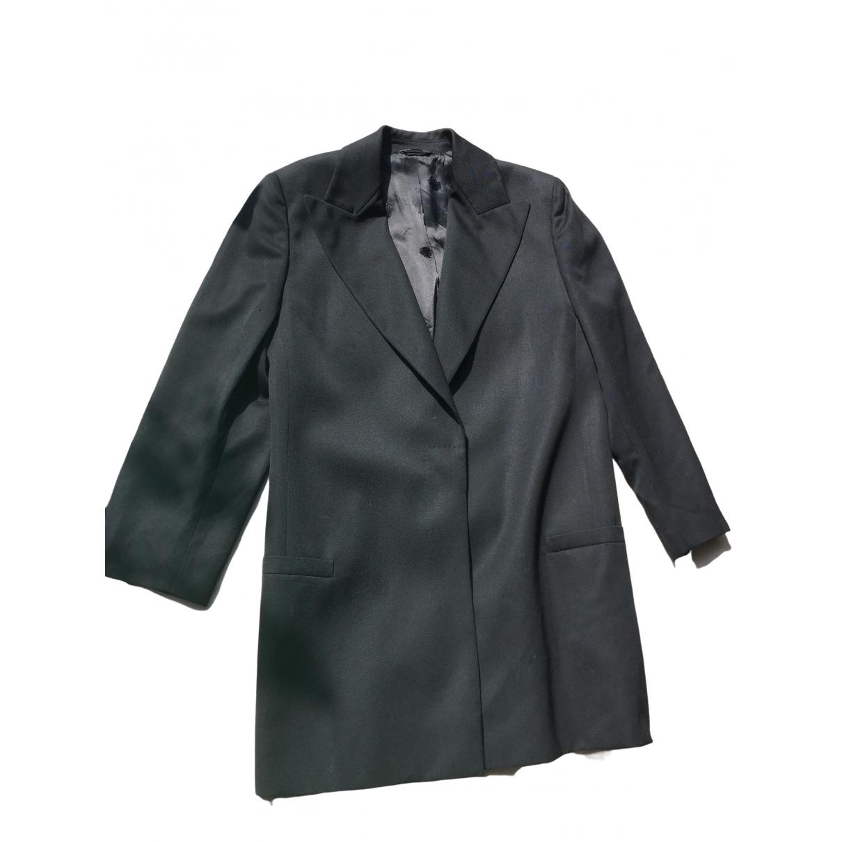 Gianni Versace - Veste   pour femme en laine - noir