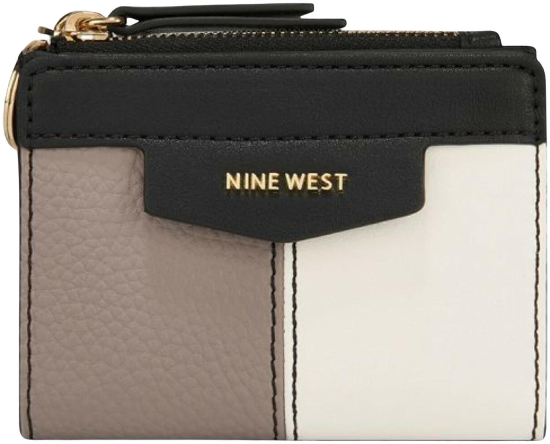 Nine West Women's Cara Small Zip Wallet - Greystone