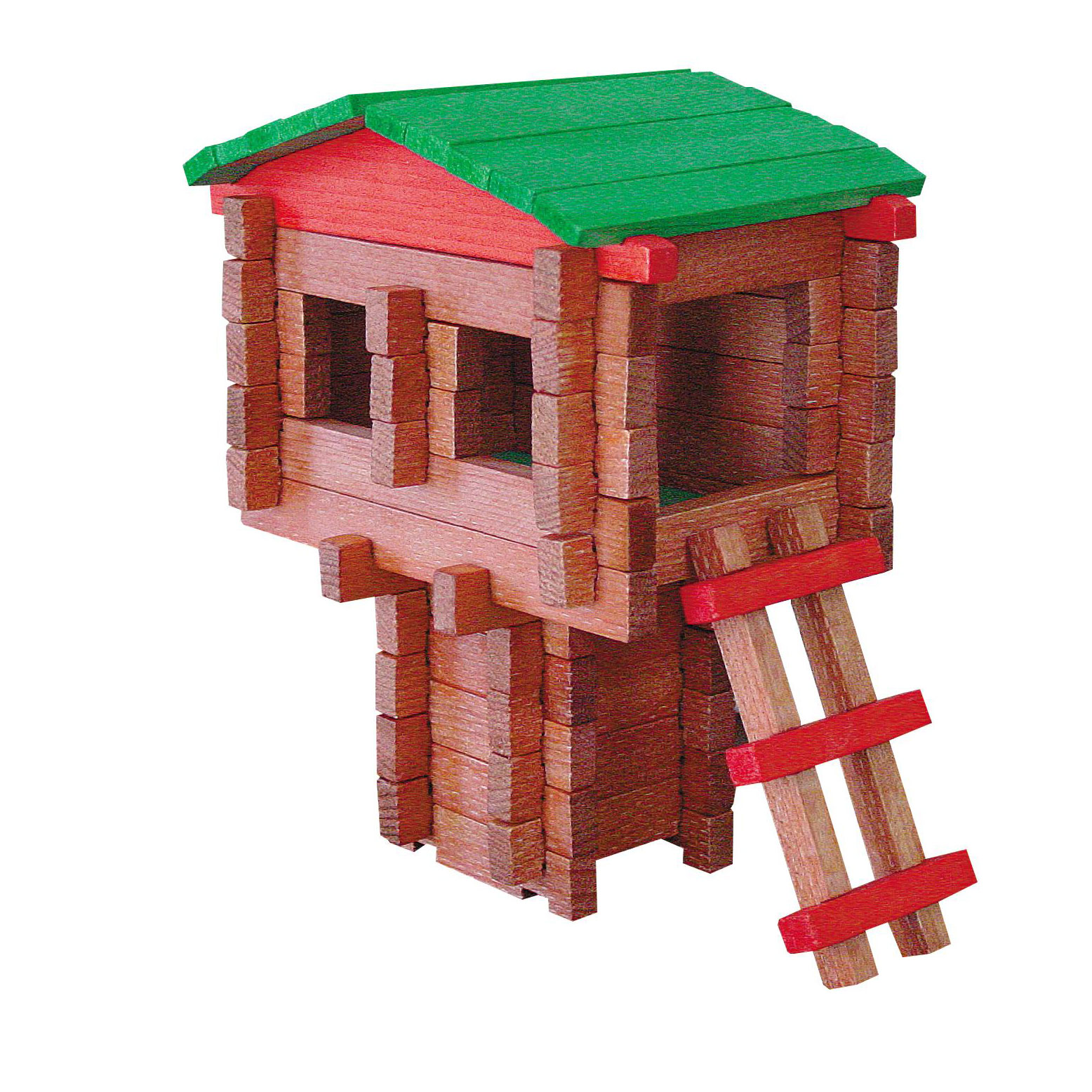 Paul Bunyan Tree House  100 pc Set