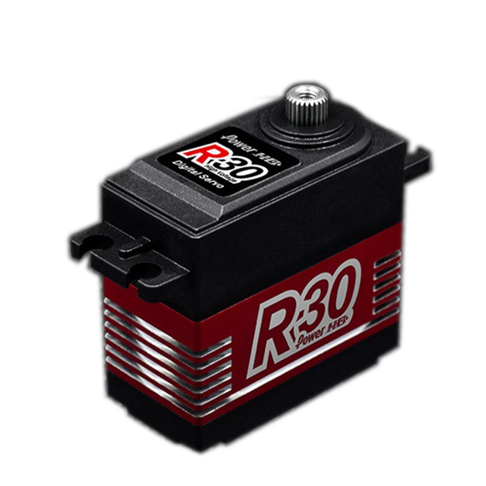 Power HD R30 Digital Servo Coreless 30KG Large Torque 90° 180° 270° 360° Rotation For RC Robot RC Robot Arm