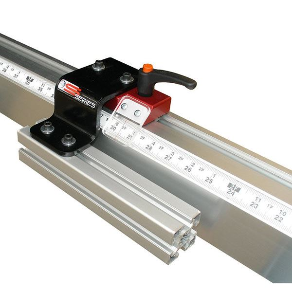Fixed Foot Manual Measuring System, 8' Left Side Mounting