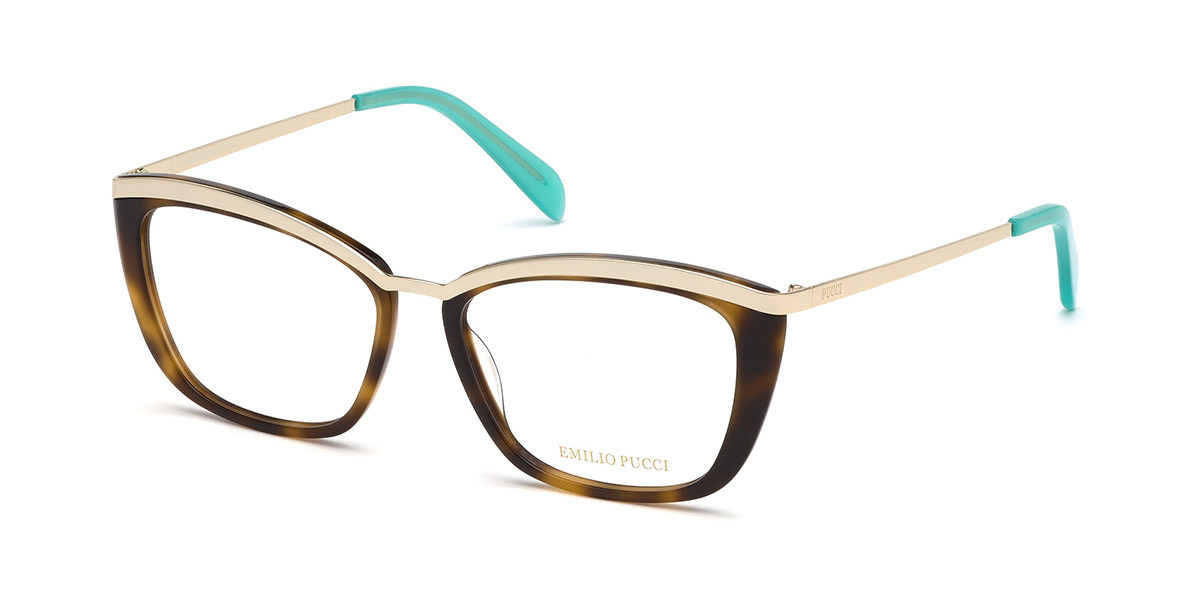 Emilio Pucci EP5093 052 Women's Glasses  Size 54 - Free Lenses - HSA/FSA Insurance - Blue Light Block Available