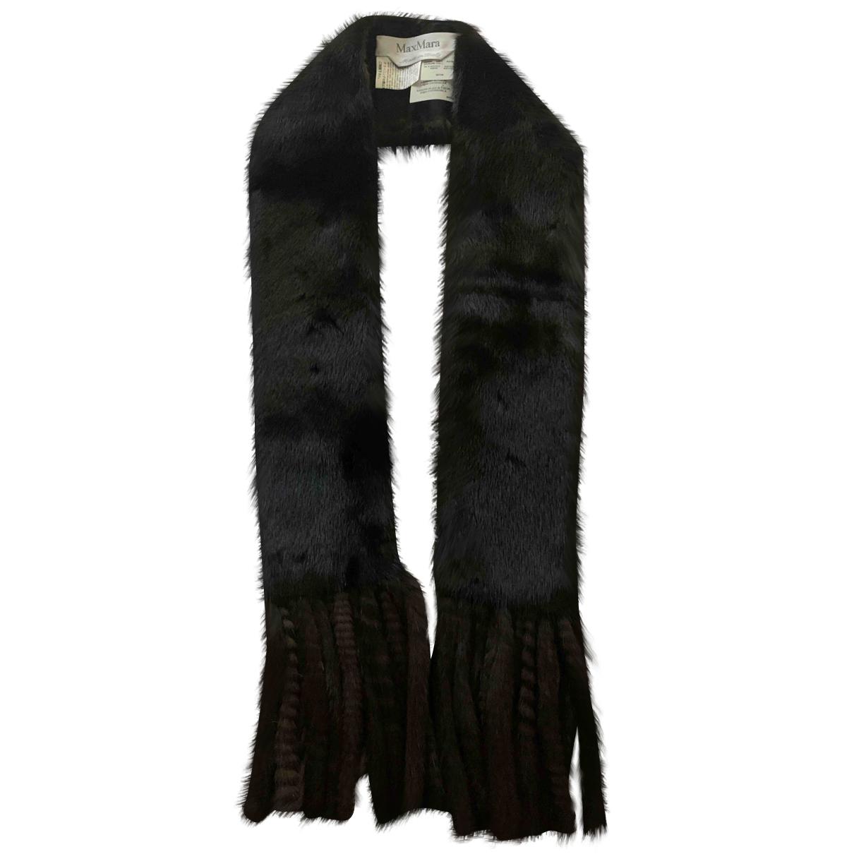 Max Mara N Brown Mink scarf for Women N