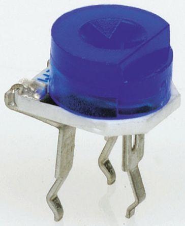 Bourns 50kΩ, Through Hole Trimmer Potentiometer 0.2W Top Adjust , 3306 (10)