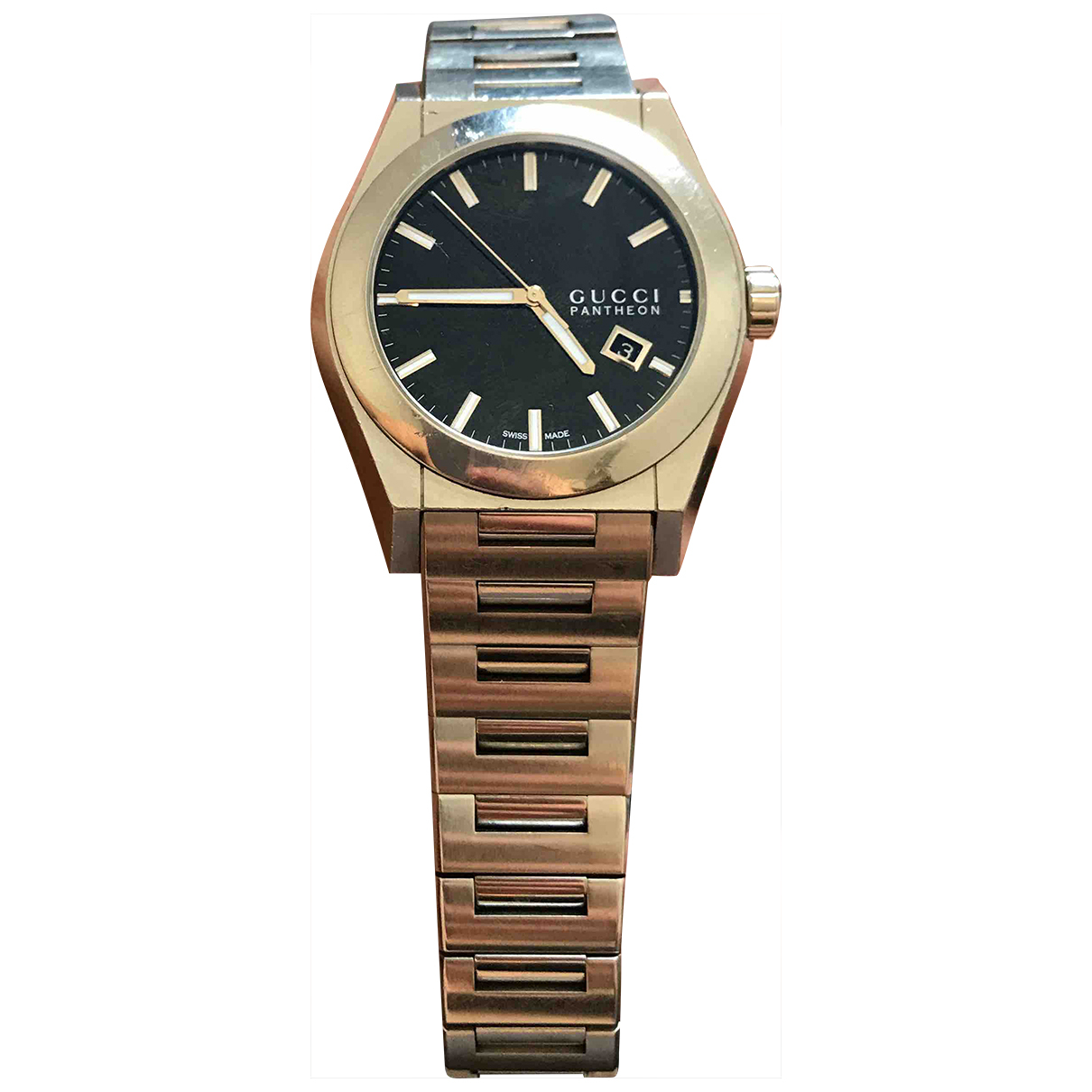 Gucci Panthéon Steel watch for Men \N