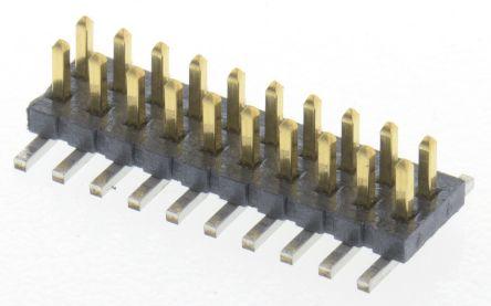 Samtec , FTS, 20 Way, 2 Row, Straight Pin Header (5)