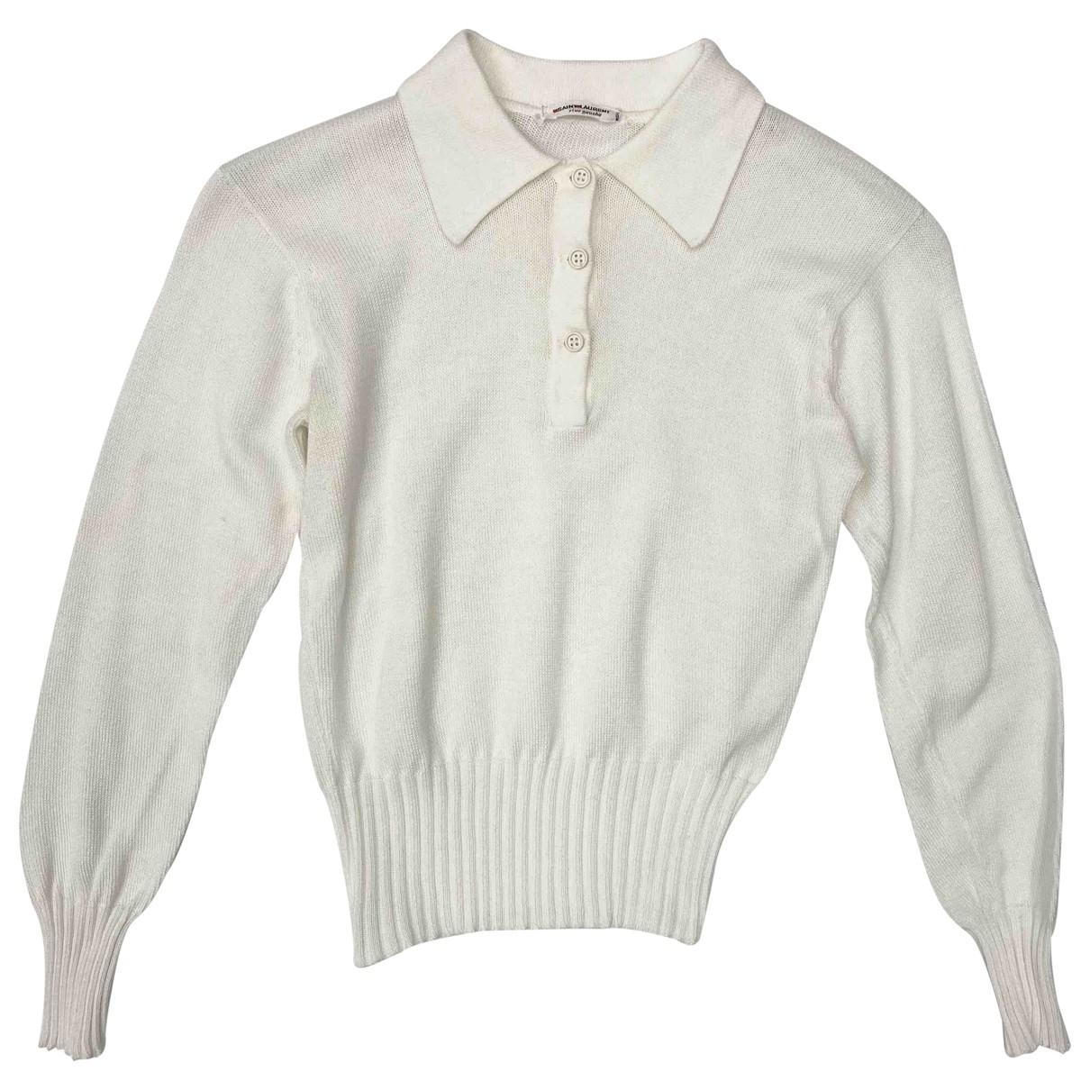 Yves Saint Laurent \N White Cotton Knitwear for Women XS International