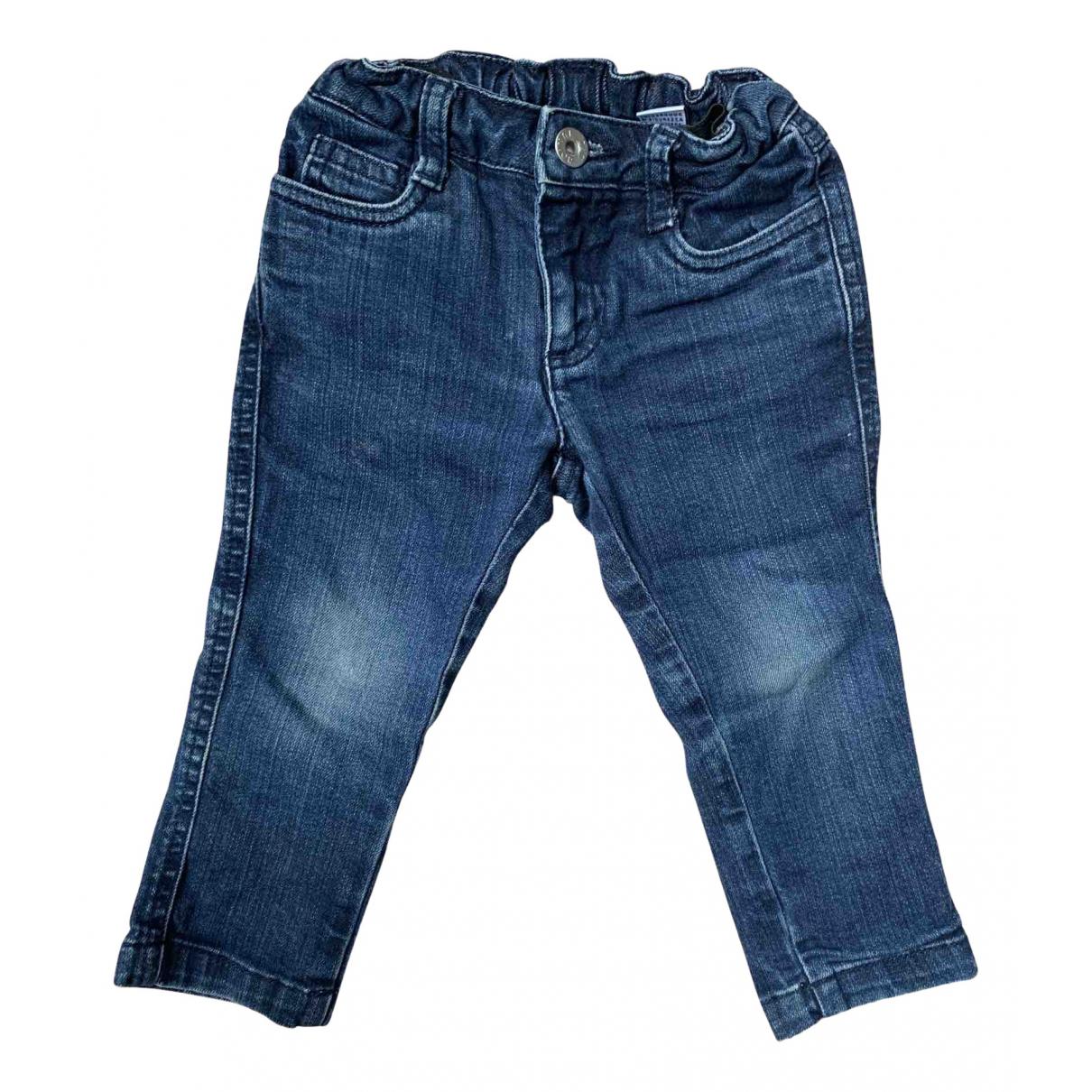 D&g - Pantalon   pour enfant en coton - bleu