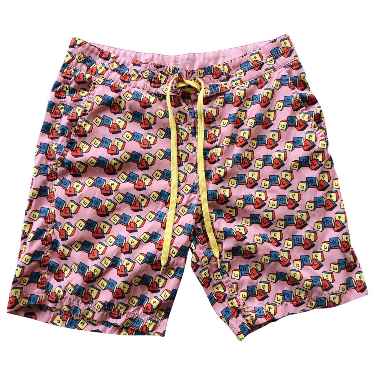 Golf Wang \N Shorts in  Rosa Baumwolle