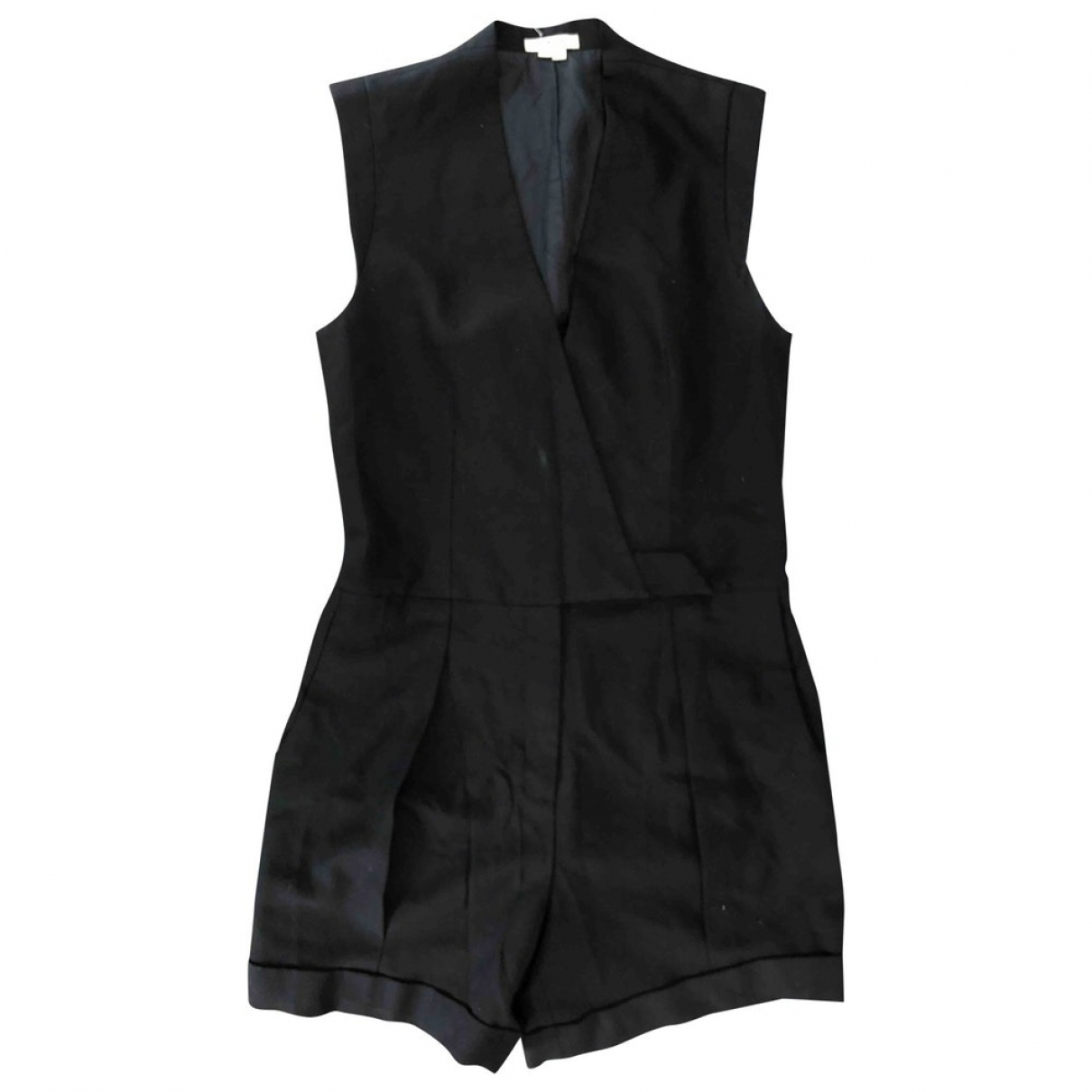 Helmut Lang \N Black Wool jumpsuit for Women 4 US