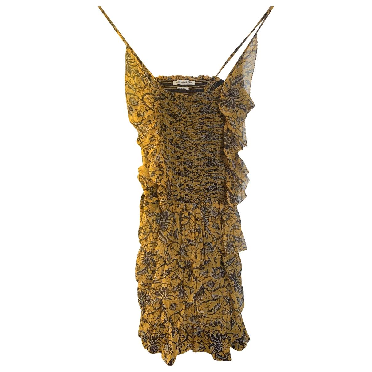 Mini vestido de Seda Isabel Marant Etoile