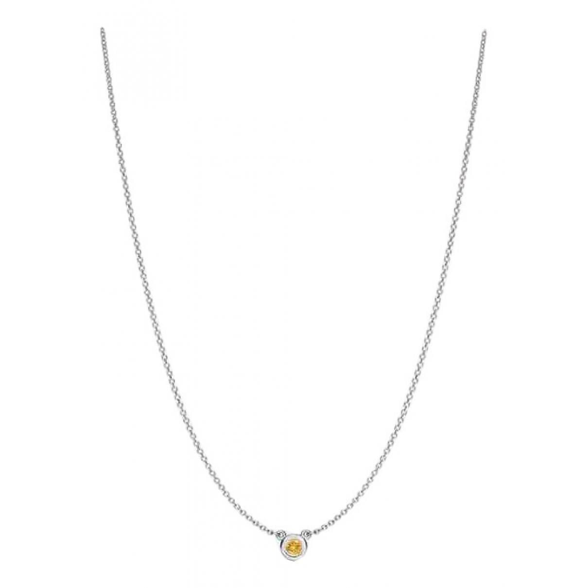 Tiffany & Co - Collier Elsa Peretti  pour femme en argent - jaune