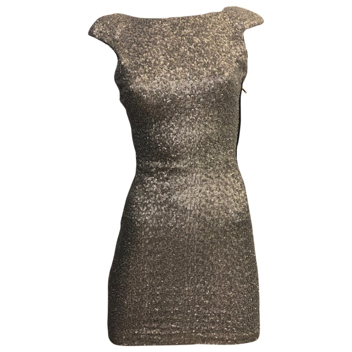 Zara \N Silver Glitter dress for Women XS International