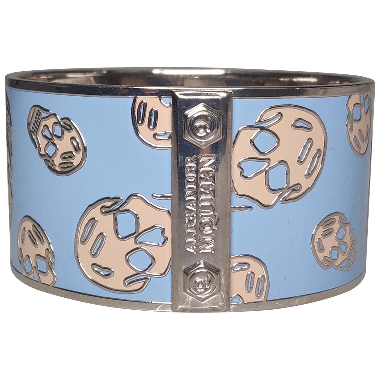 Alexander Mcqueen \N Armband in  Blau Metall