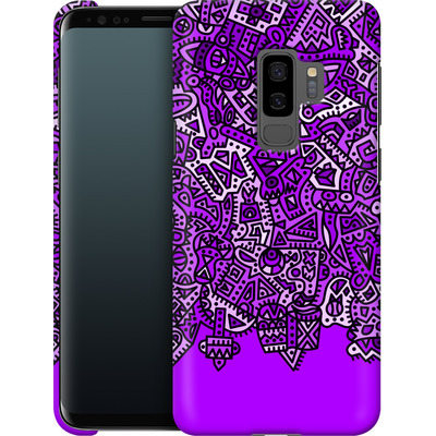 Samsung Galaxy S9 Plus Smartphone Huelle - Violet Black von Mattartiste