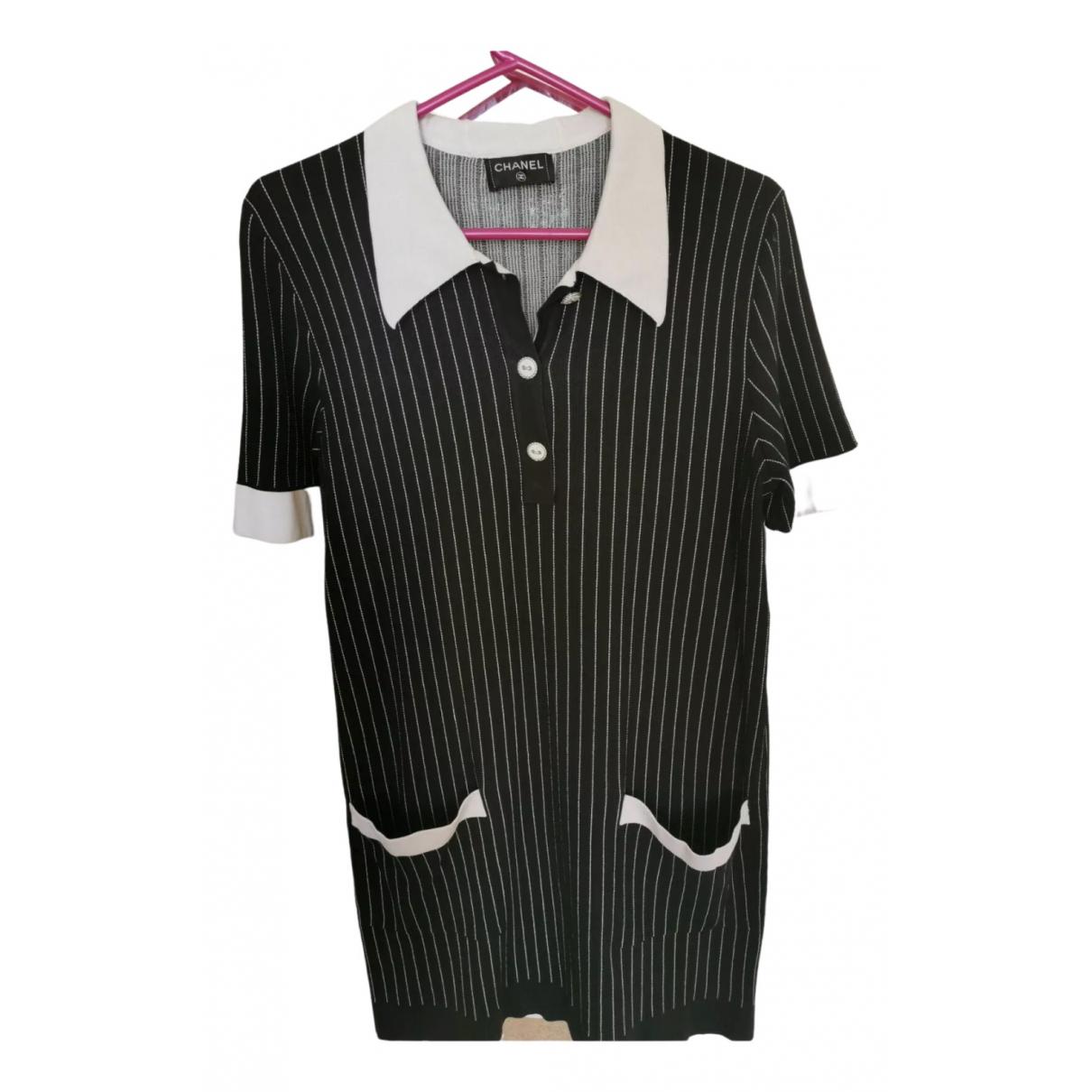 Chanel N Blue Linen dress for Women 14 UK