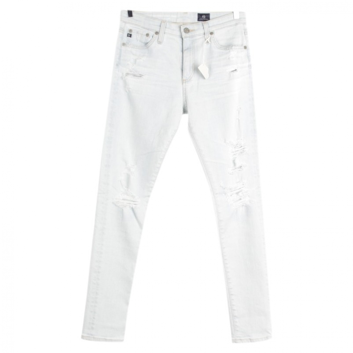 Ag Jeans \N Blue Cotton Jeans for Women 27 US