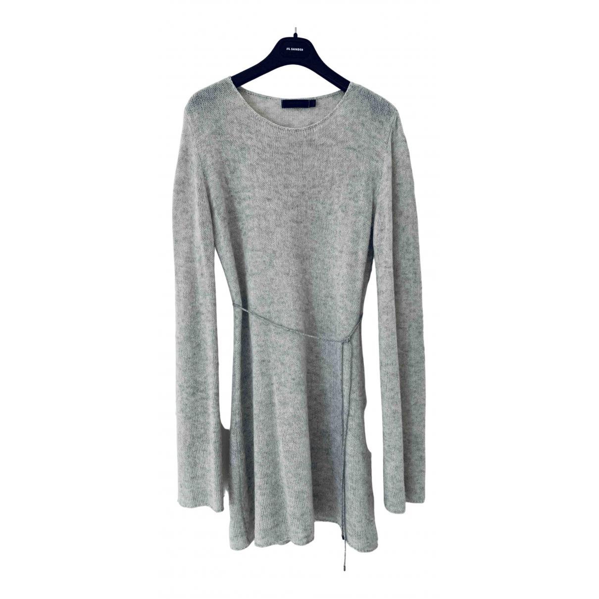 Calvin Klein Collection N Grey Cashmere dress for Women M International