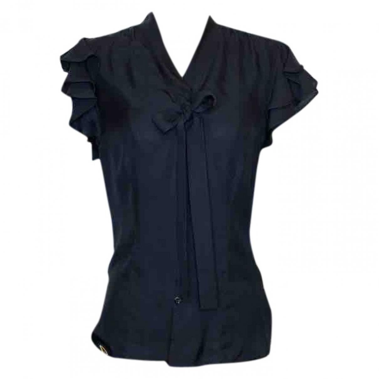 Jean Paul Gaultier \N Black Silk  top for Women 40 IT