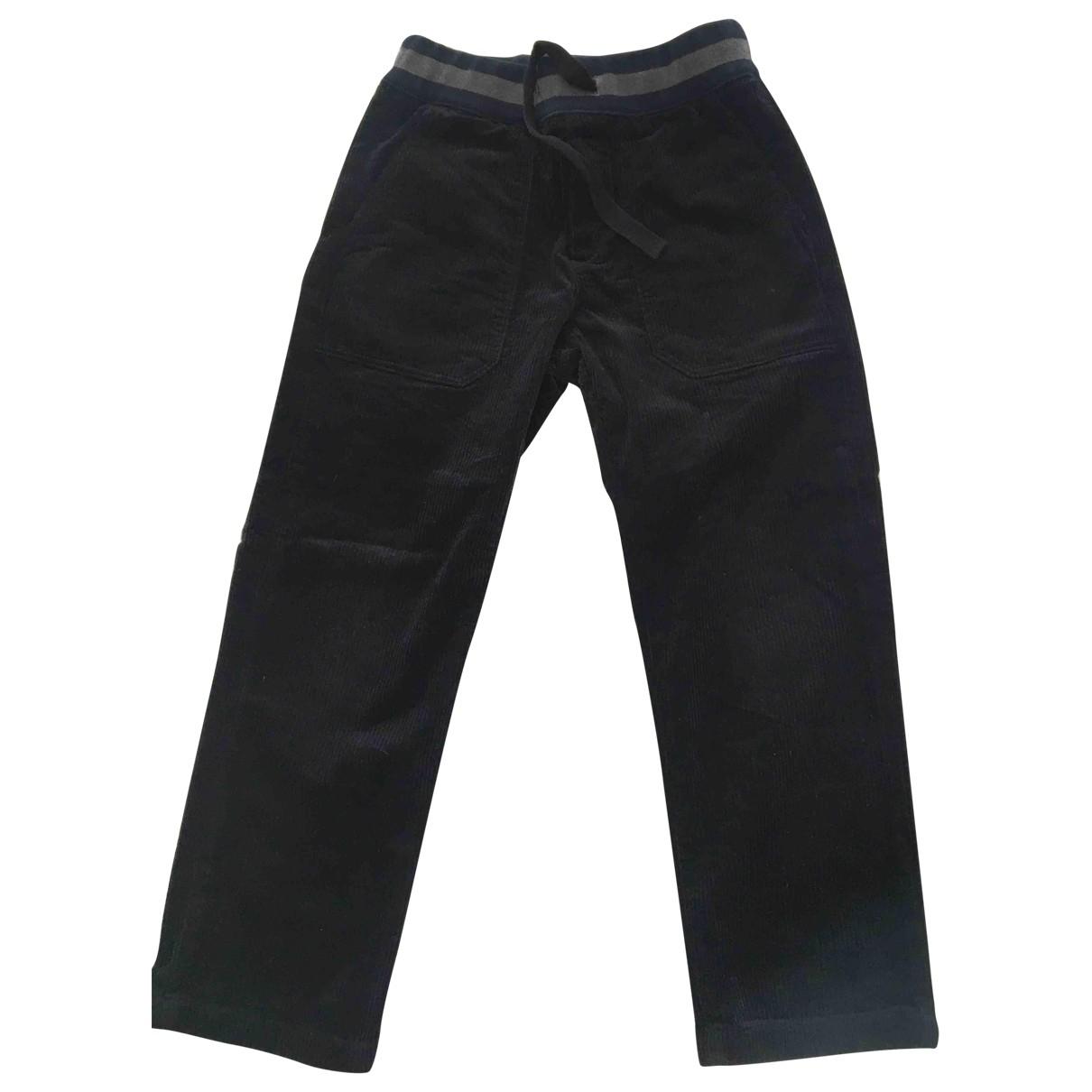 Bonpoint - Pantalon   pour enfant en coton - bleu
