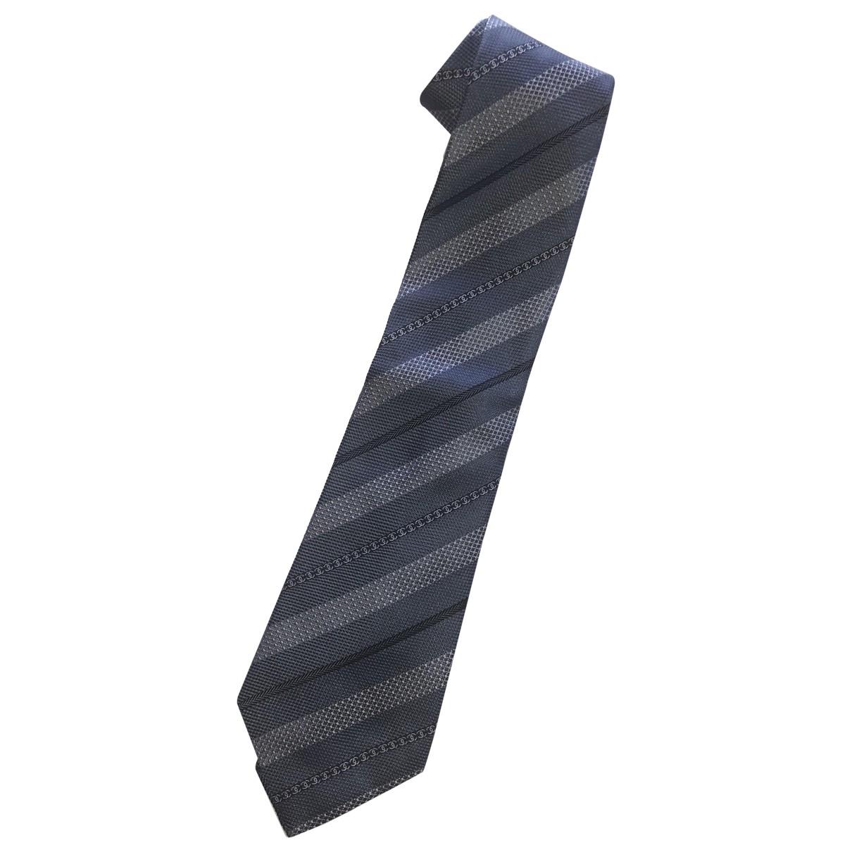 Chanel \N Krawatten in  Anthrazit Seide