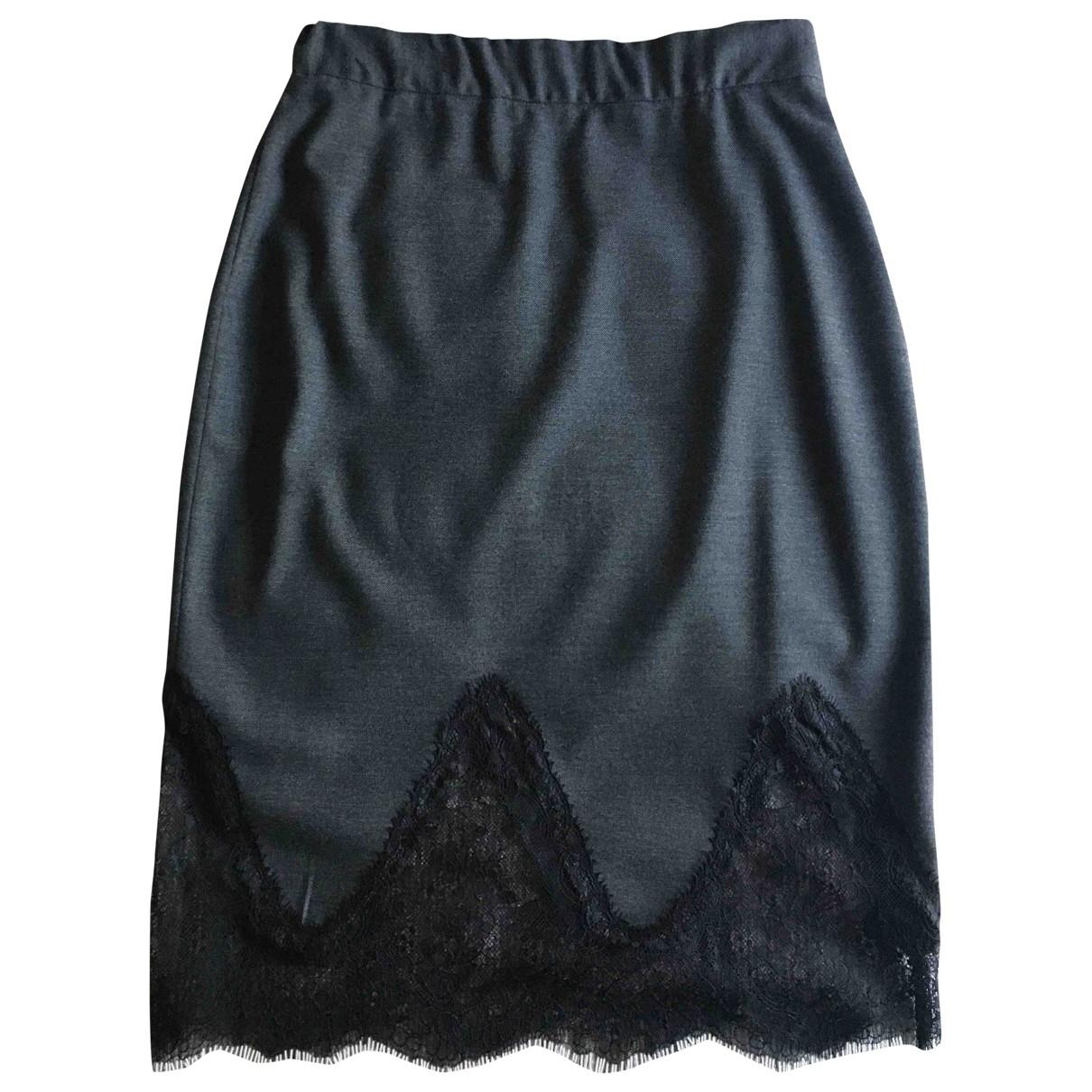 Zara \N Rocke in  Grau Synthetik