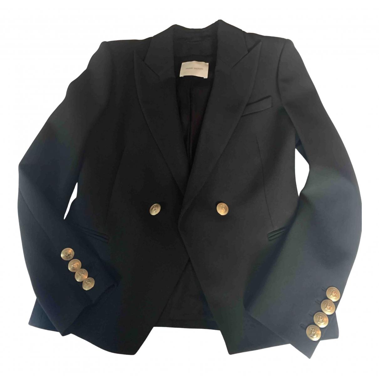 Balmain N Black jacket for Women 40 FR
