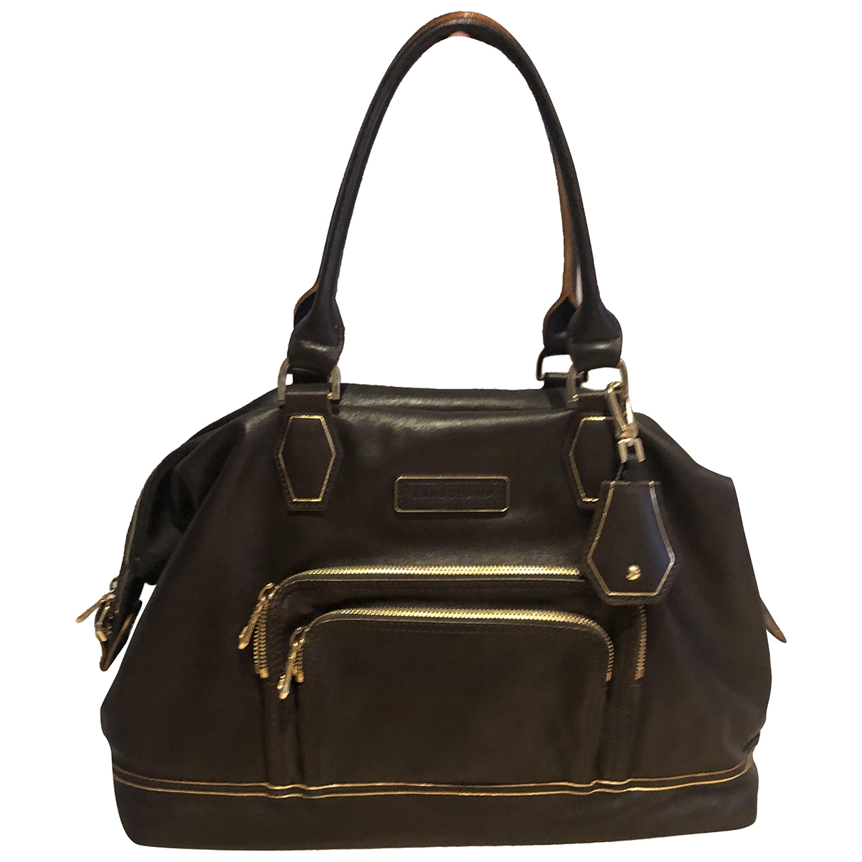 Longchamp Légende Brown Leather handbag for Women \N