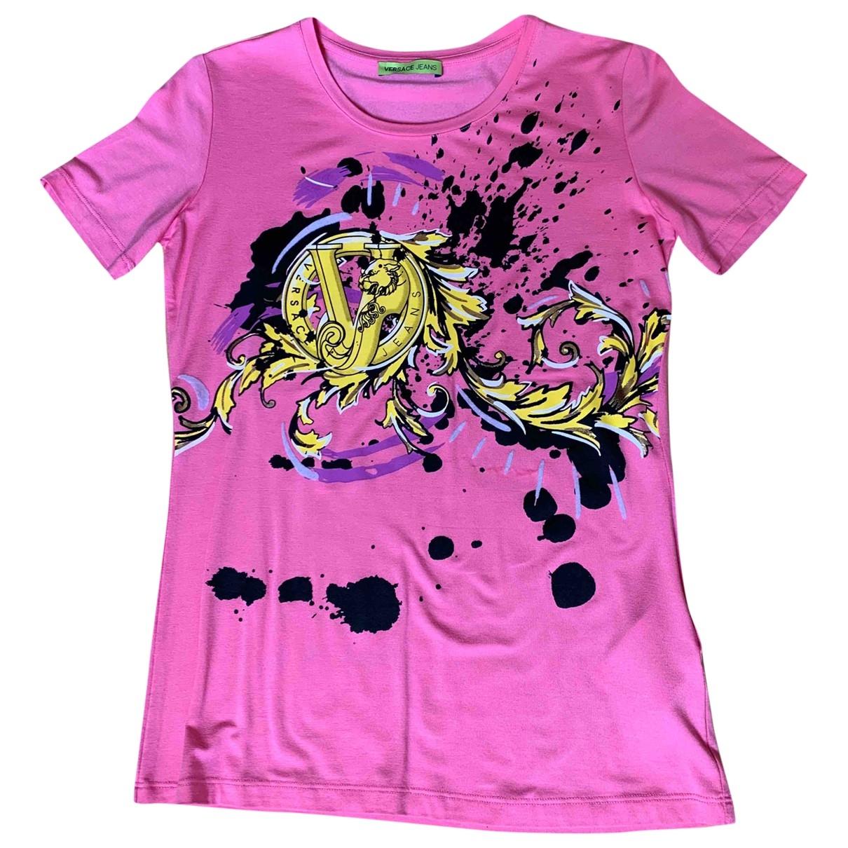 Versace Jean - Top   pour femme - rose