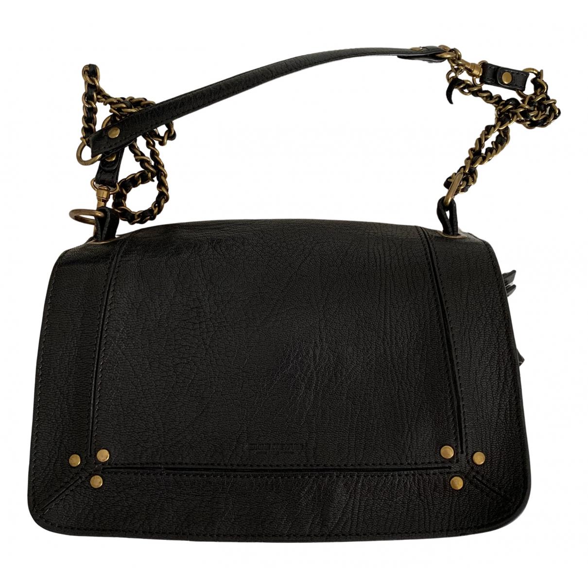 Jerome Dreyfuss Bobi Handtasche in  Schwarz Leder