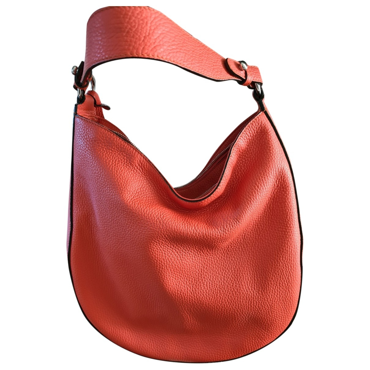 Non Signé / Unsigned \N Leather handbag for Women \N