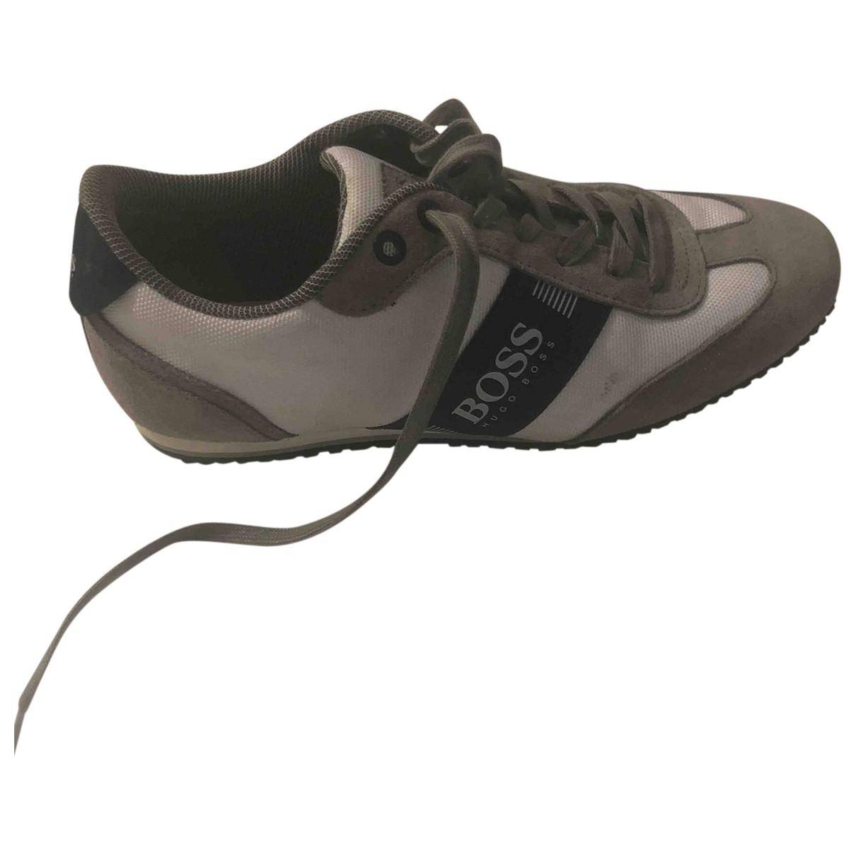 Boss \N Sneakers in  Beige Leinen