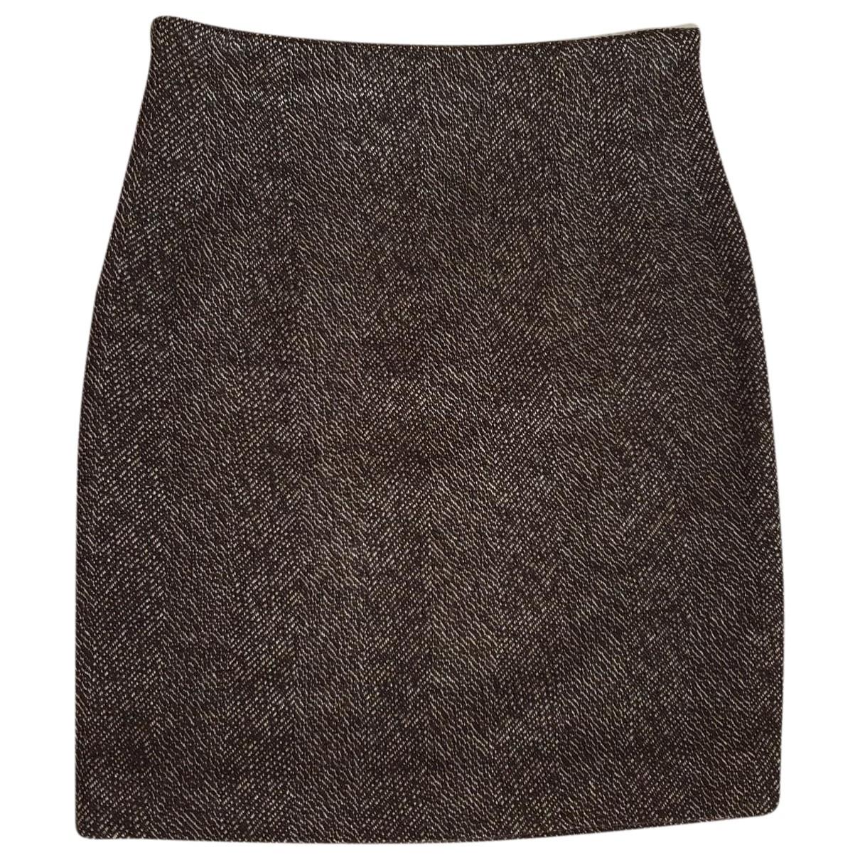 Kiton \N Rocke in  Braun Wolle