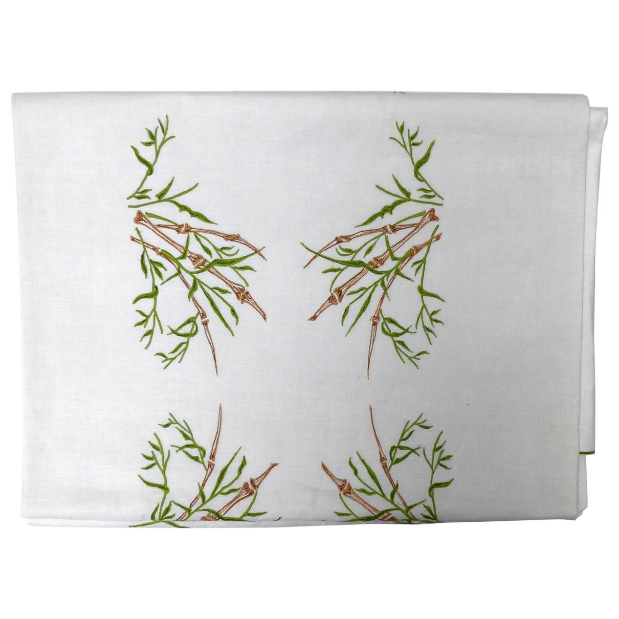 Dior - Arts de la table   pour lifestyle en lin - blanc / vert