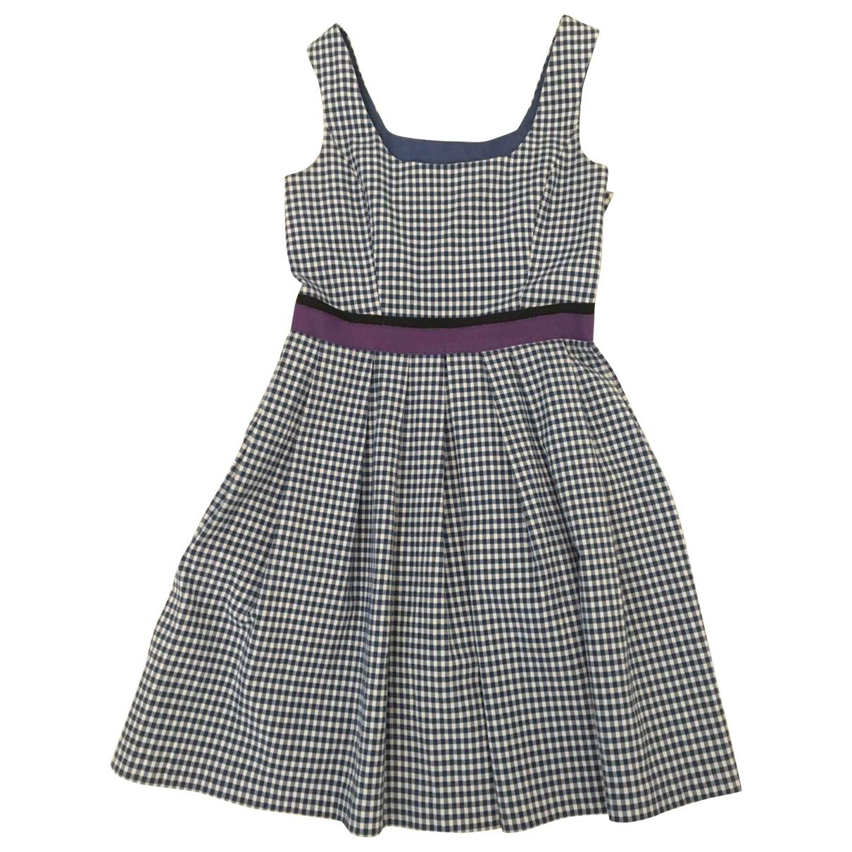 Pinko \N Kleid in  Blau Baumwolle