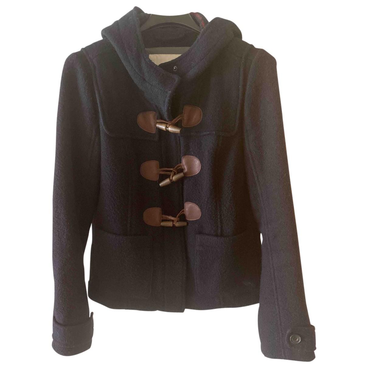 Abercrombie & Fitch - Veste   pour femme en laine - noir