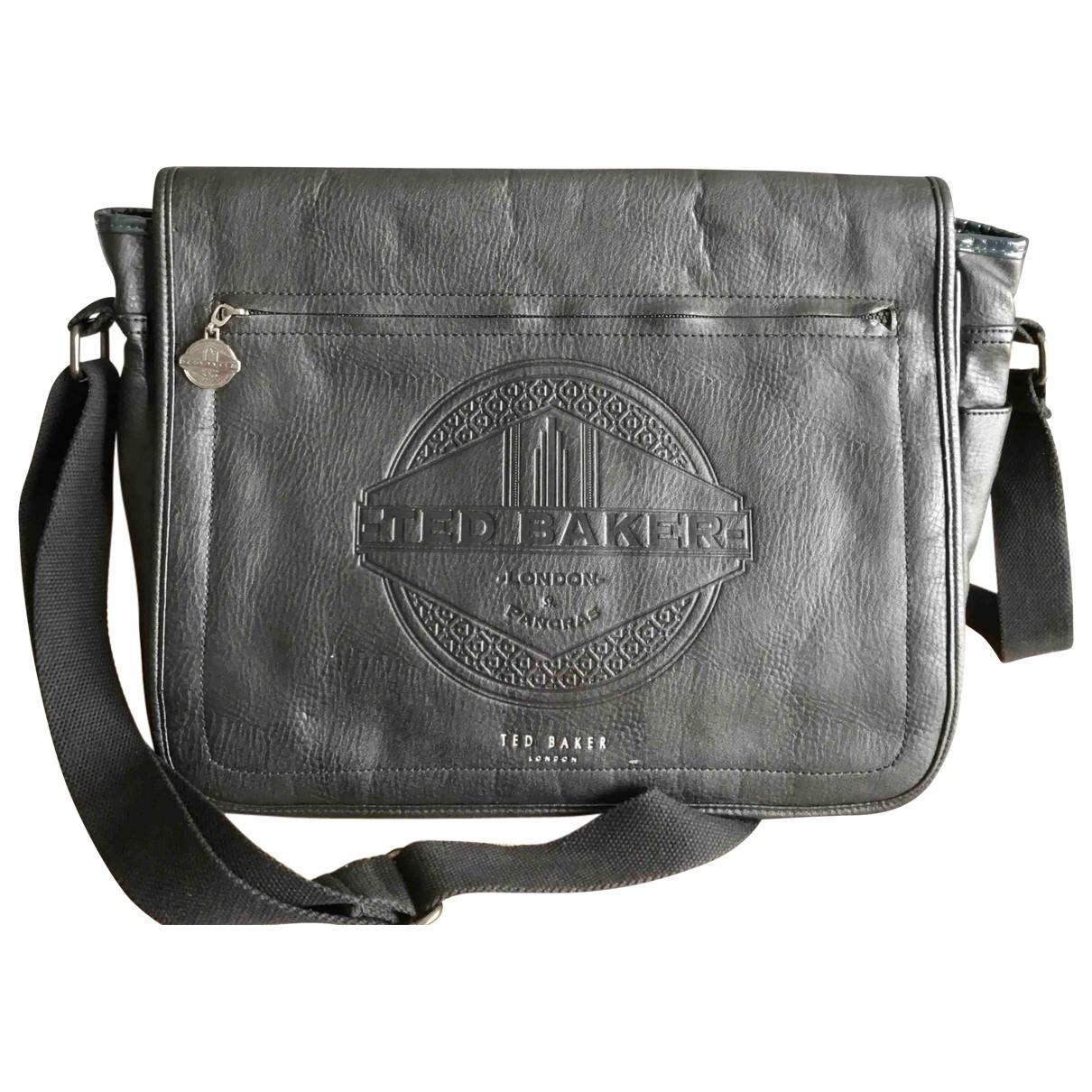 Ted Baker \N Black Leather bag for Men \N