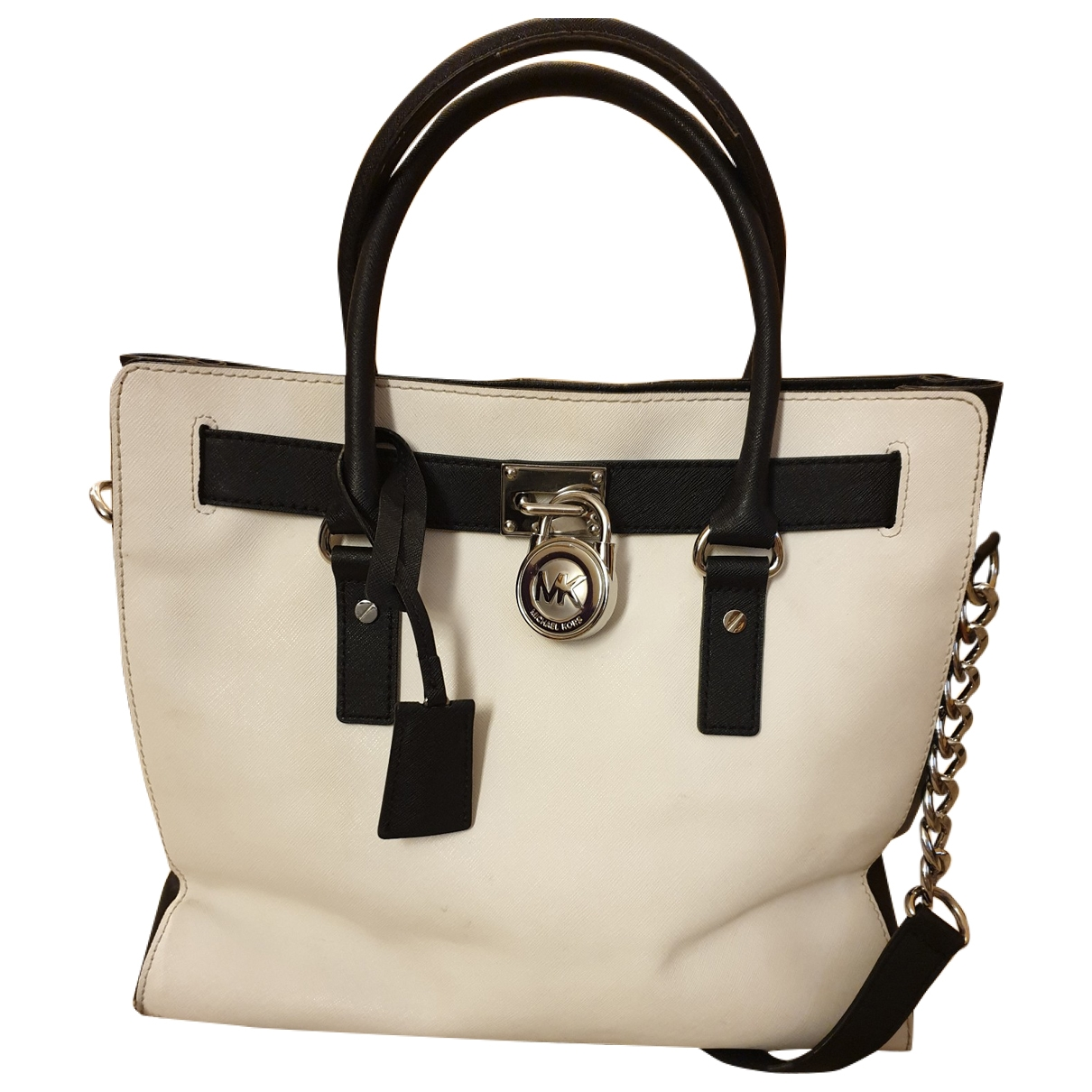 Michael Kors Hamilton Anthracite Leather handbag for Women \N