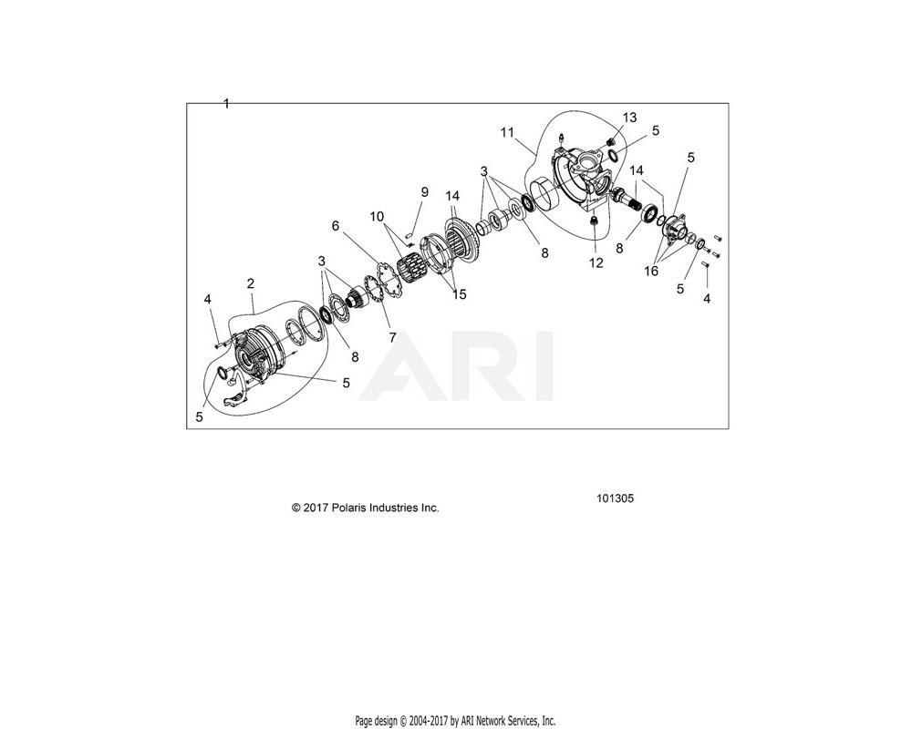 Polaris OEM 3235433 KIT, FASTENERS   [INCL. 12 SCREWS]