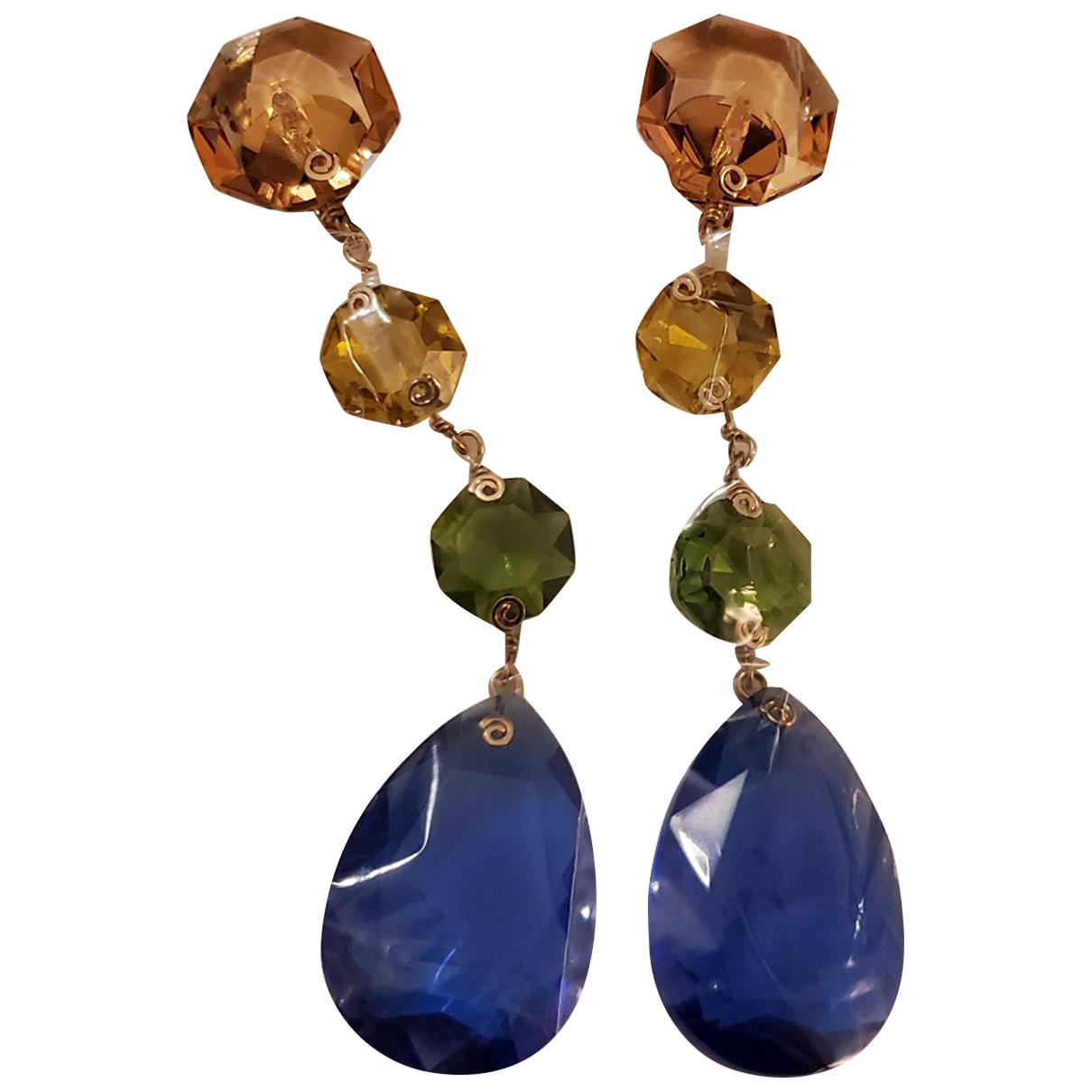 Tory Burch \N Multicolour Crystal Earrings for Women \N