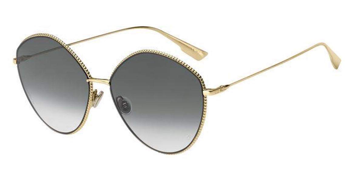 Dior DIOR SOCIETY4 J5G/9O Men's Sunglasses Gold Size 61