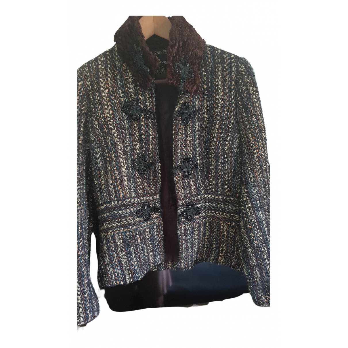 Non Signé / Unsigned \N Wool jacket for Women 38 FR