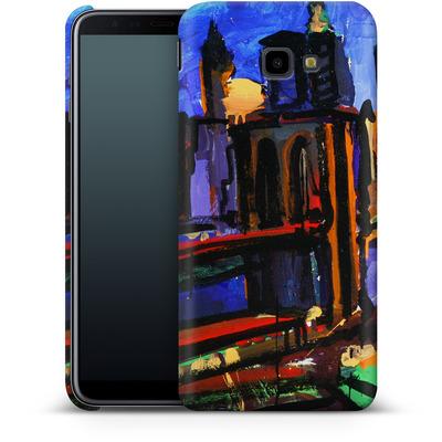 Samsung Galaxy J4 Plus Smartphone Huelle - Alive At Night von Tom Christopher